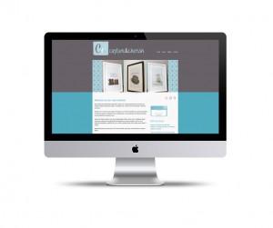 Capture & Cherish website design